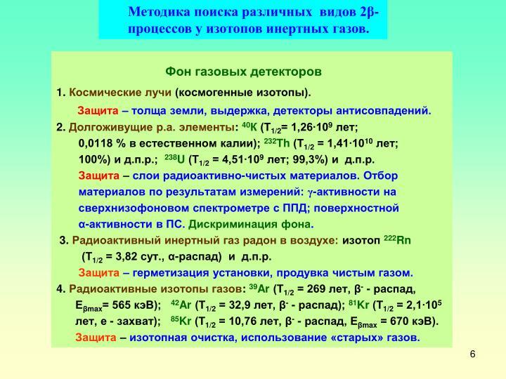 Методика поиска различных  видов 2