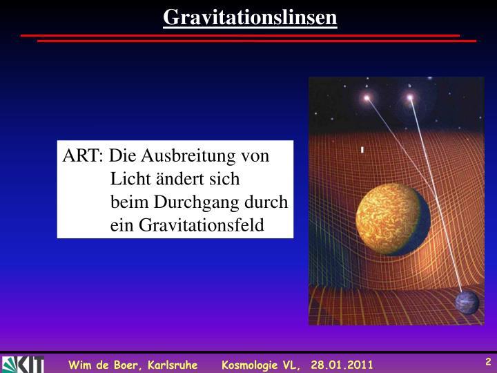 Gravitationslinsen