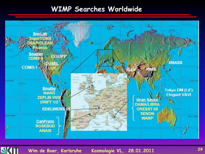 WIMP Searches Worldwide