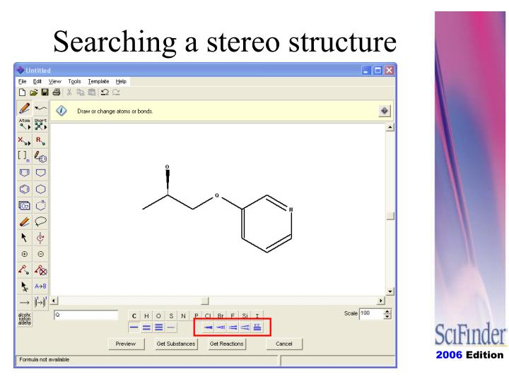 Searching a stereo structure