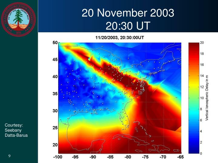 20 November 2003