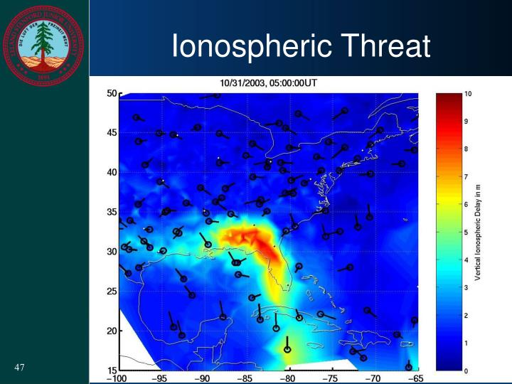 Ionospheric Threat