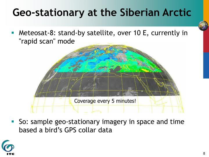 Geo-stationary at the Siberian Arctic