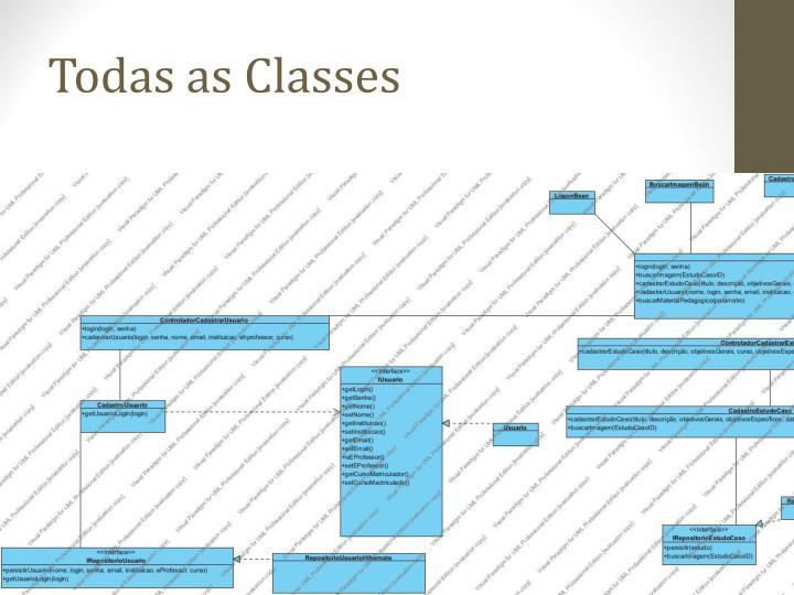 Todas as Classes