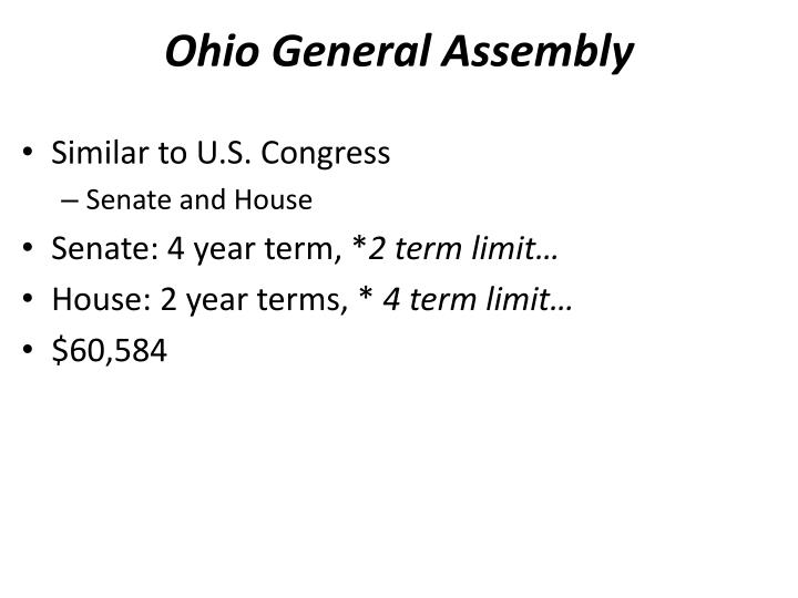 essays on congressional term limits Autor: reviewessays • december 19, 2010 • essay • 384 words (2 pages) • 549 views page 1 of 2 thesis: term limits for congress will disrupt the balance and can make the taxpayers very unhappy.
