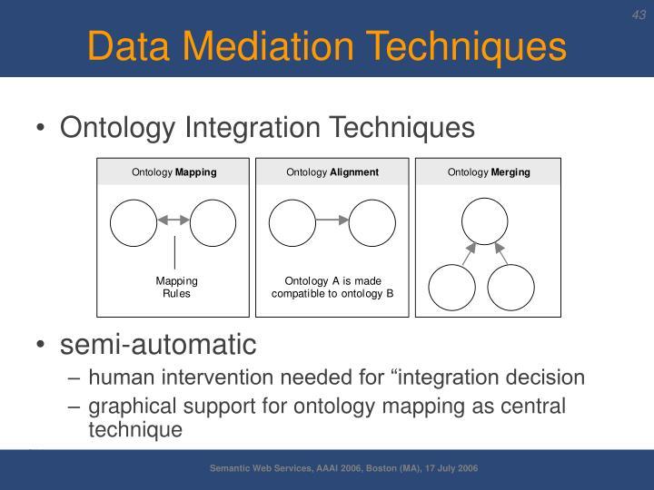 Data Mediation Techniques
