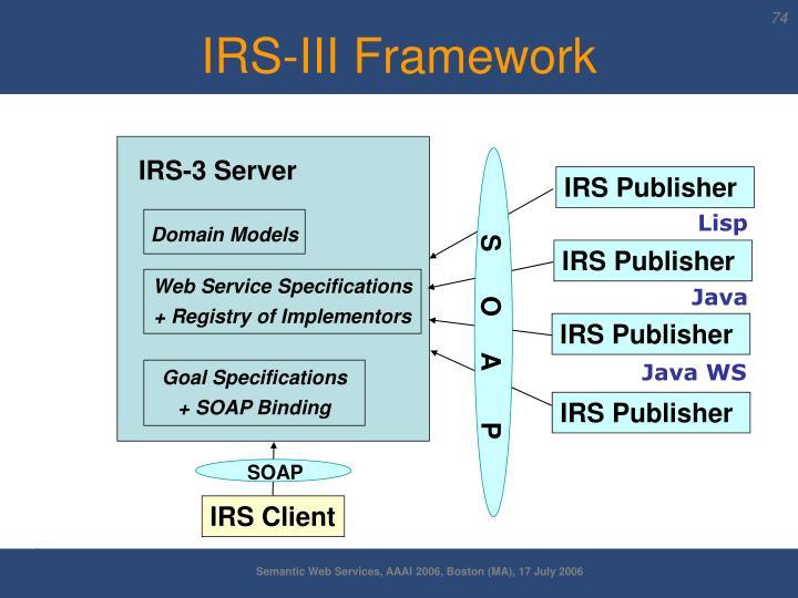IRS-3 Server