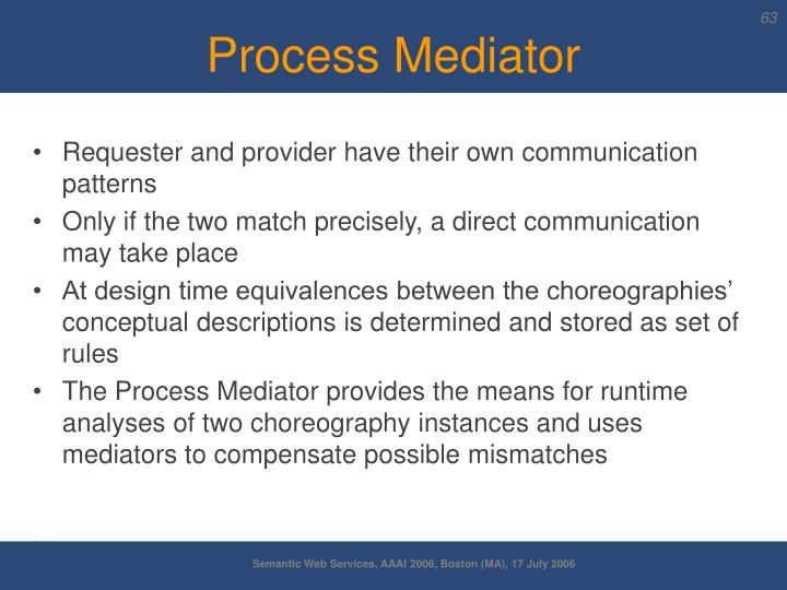 Process Mediator