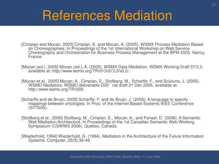 References Mediation