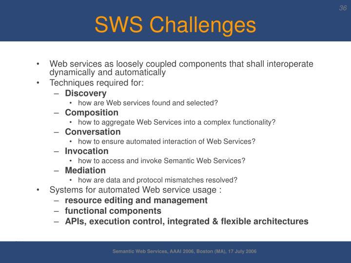 SWS Challenges