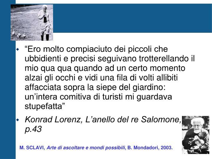 M. SCLAVI,