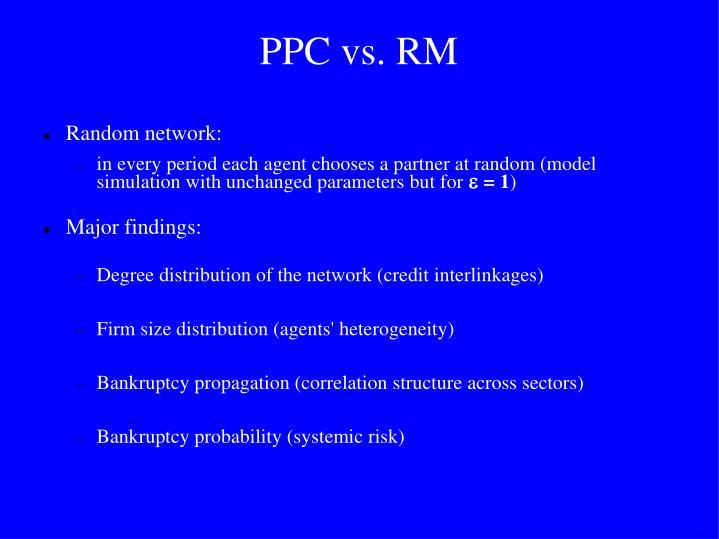 PPC vs. RM