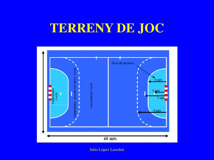 TERRENY DE JOC