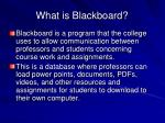 what is blackboard