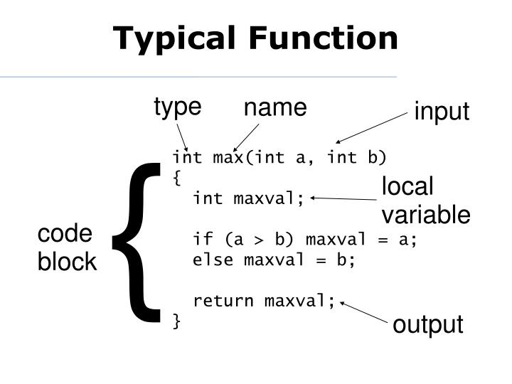 Typical Function