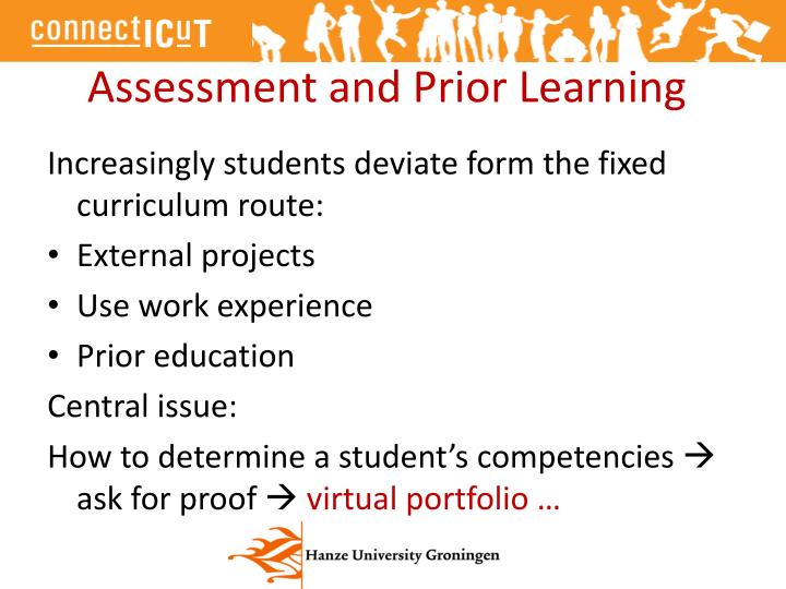 Assessment and Prior Learning