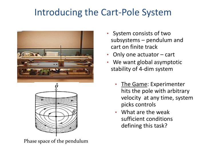 Introducing the Cart-Pole System