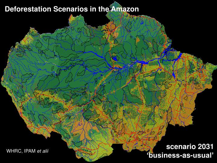 Deforestation Scenarios in the Amazon