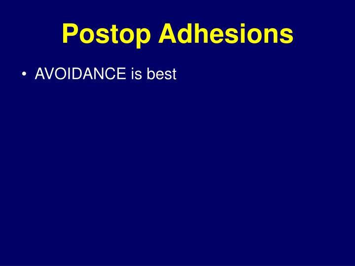 Postop Adhesions
