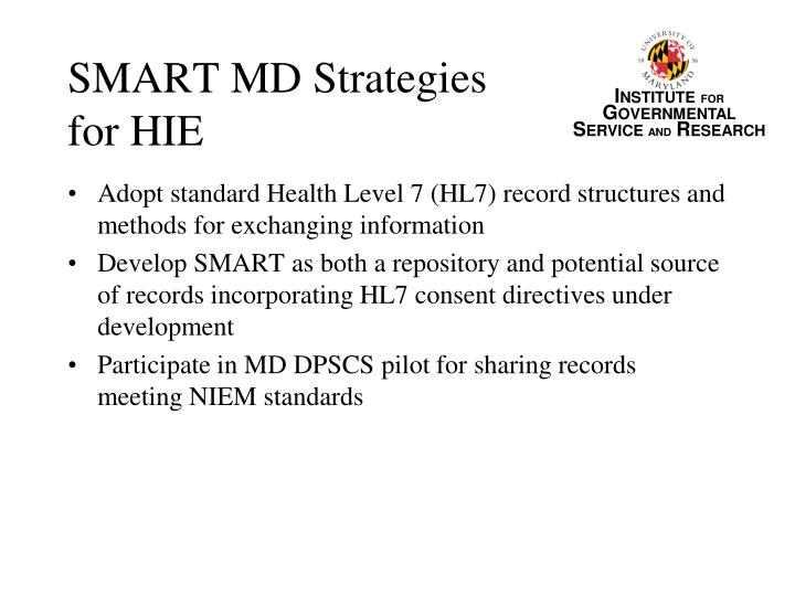 SMART MD Strategies