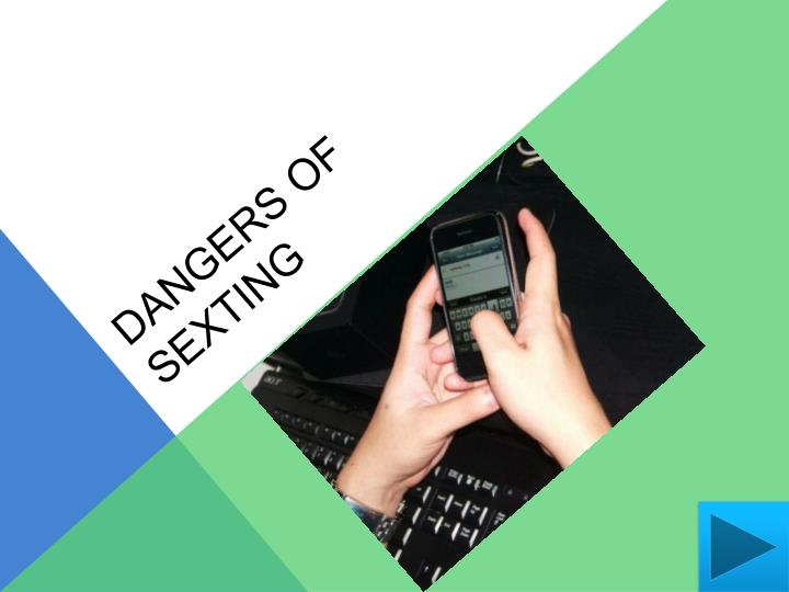 Dangers of sexting