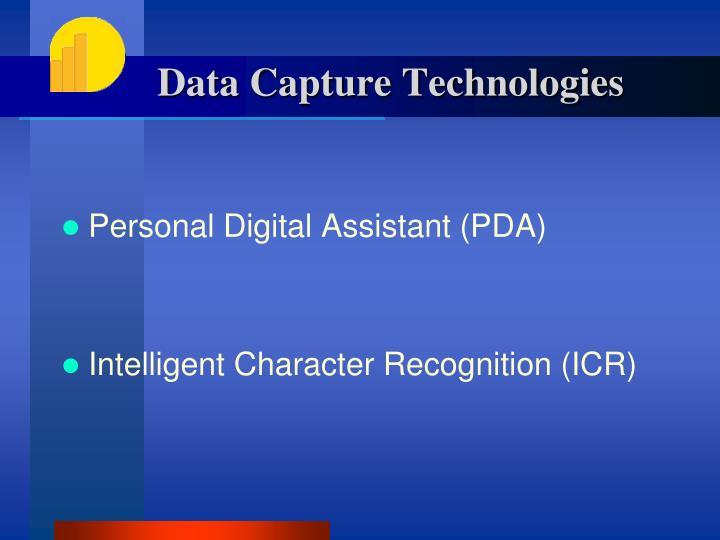 Data Capture Technologies