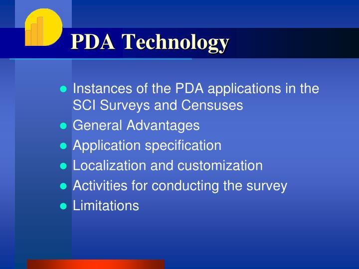 PDA Technology