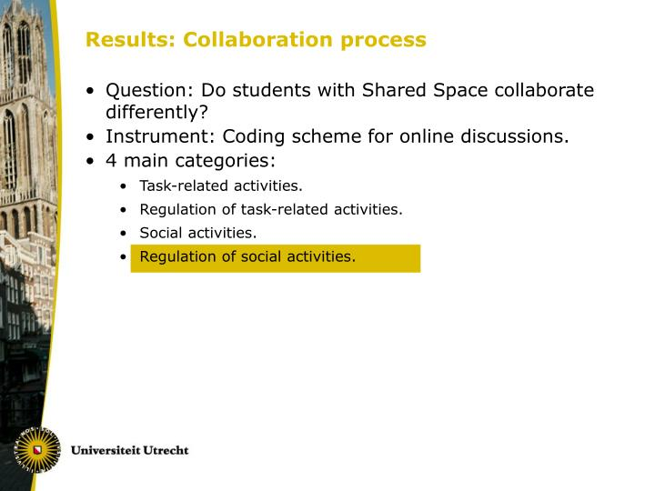 Results: Collaboration process