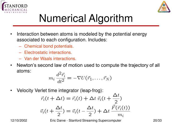 Numerical Algorithm