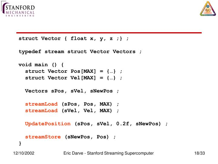 struct Vector { float x, y, z ;} ;