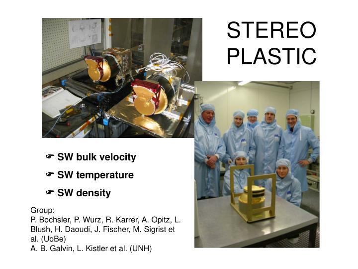 STEREO PLASTIC