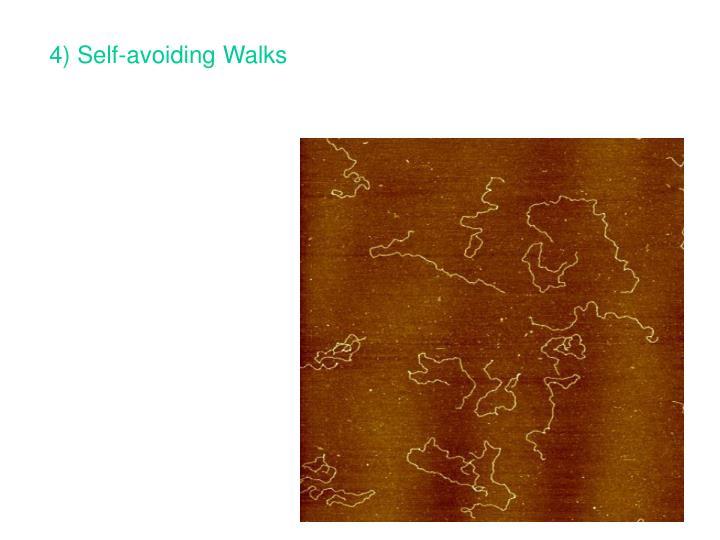 4) Self-avoiding Walks