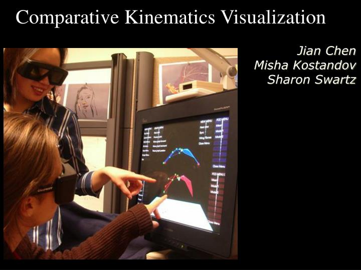 Comparative Kinematics Visualization