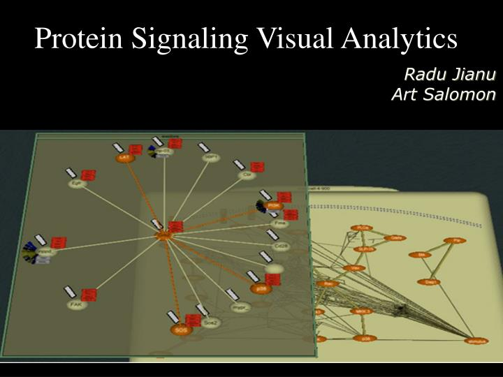 Protein Signaling Visual Analytics