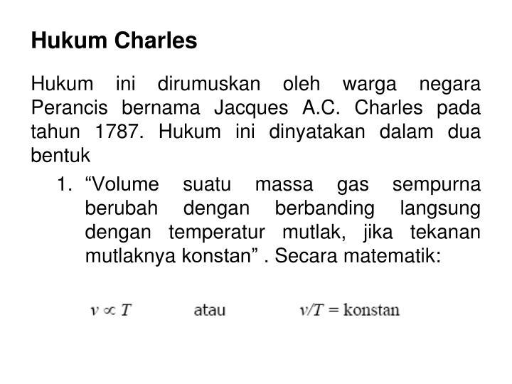 Hukum Charles