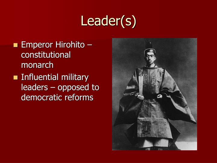 Leader(s)