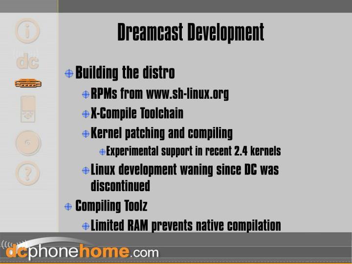 Dreamcast Development