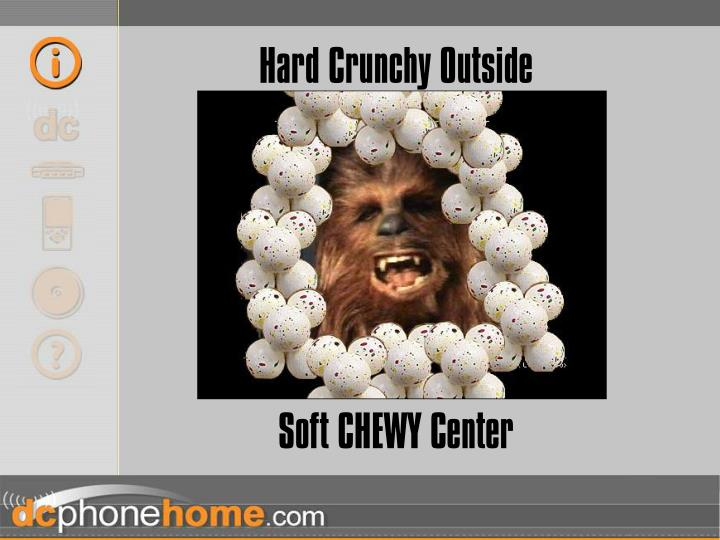 Hard Crunchy Outside