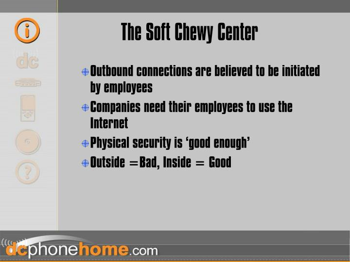 The Soft Chewy Center