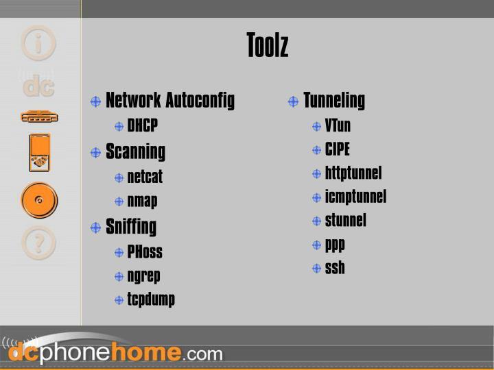 Network Autoconfig