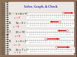 solve graph check