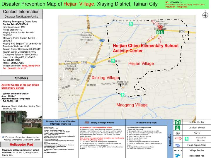 Disaster Prevention Map of