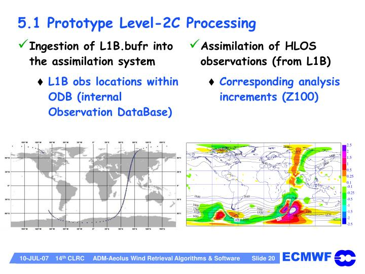 5.1 Prototype Level-2C Processing