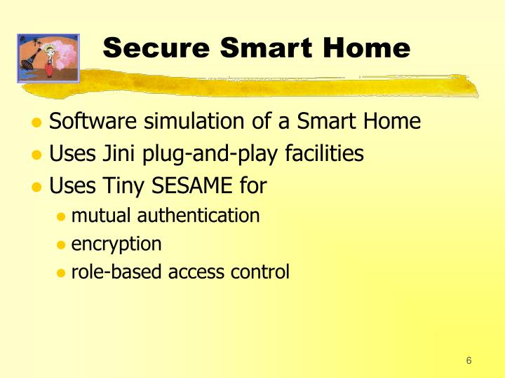 Secure Smart Home