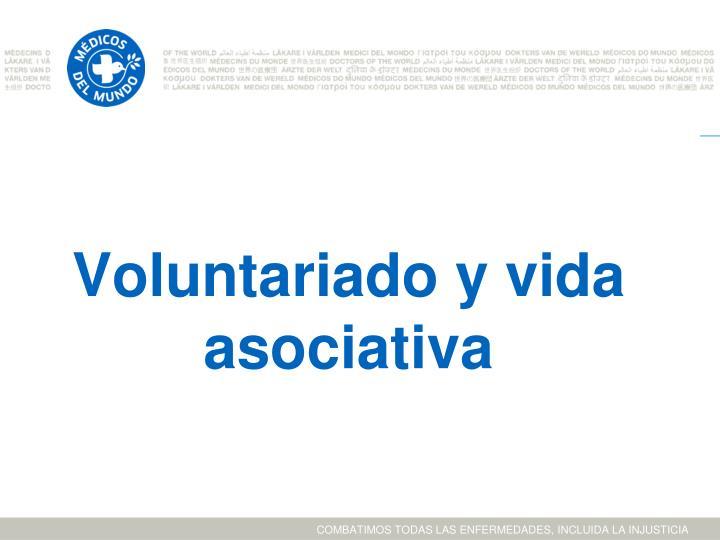 Voluntariado y vida asociativa