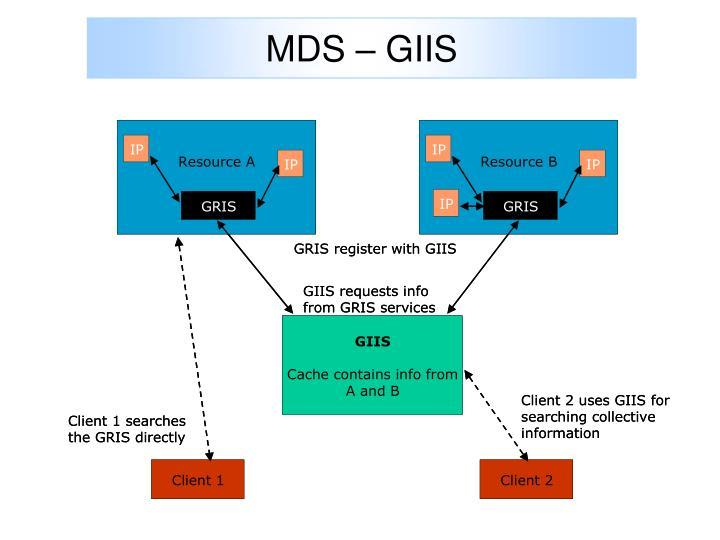 MDS – GIIS