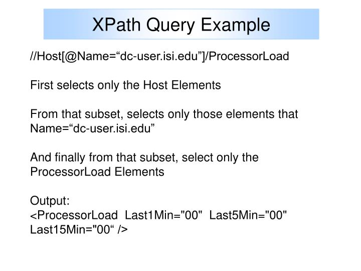XPath Query Example