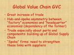 global value chain gvc