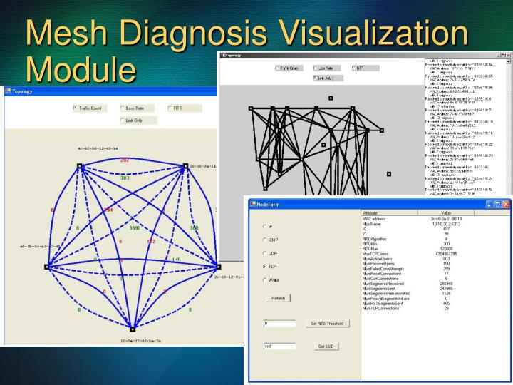 Mesh Diagnosis Visualization Module