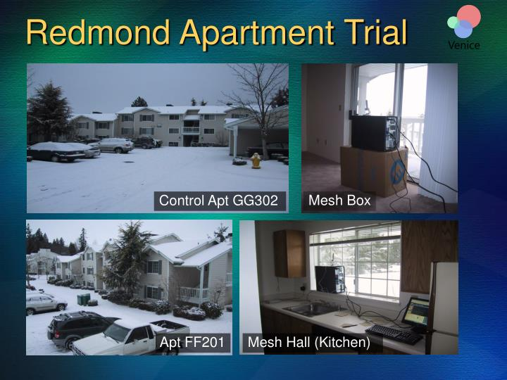 Redmond Apartment Trial
